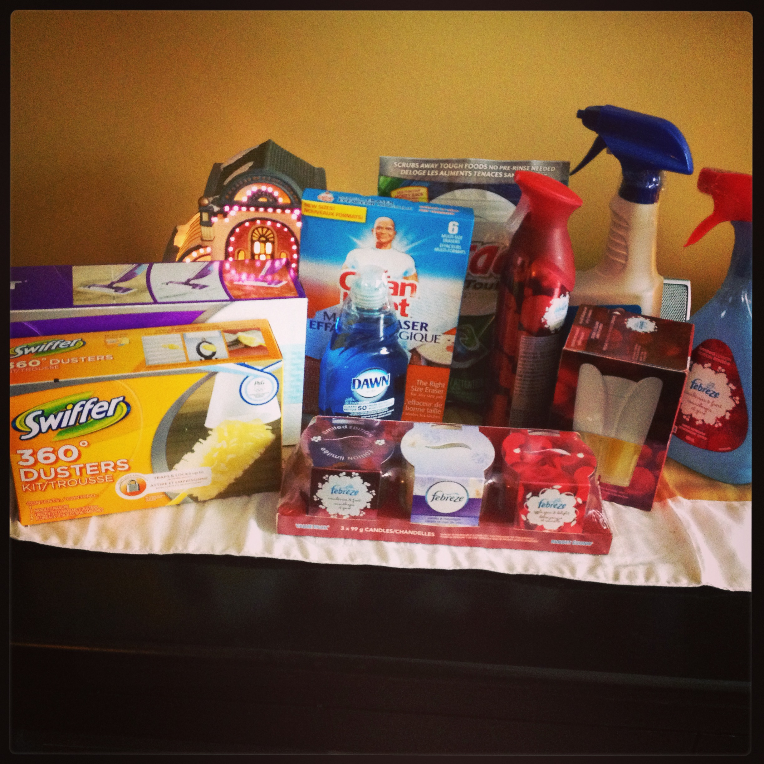 P&G Cleaning Prize Pack