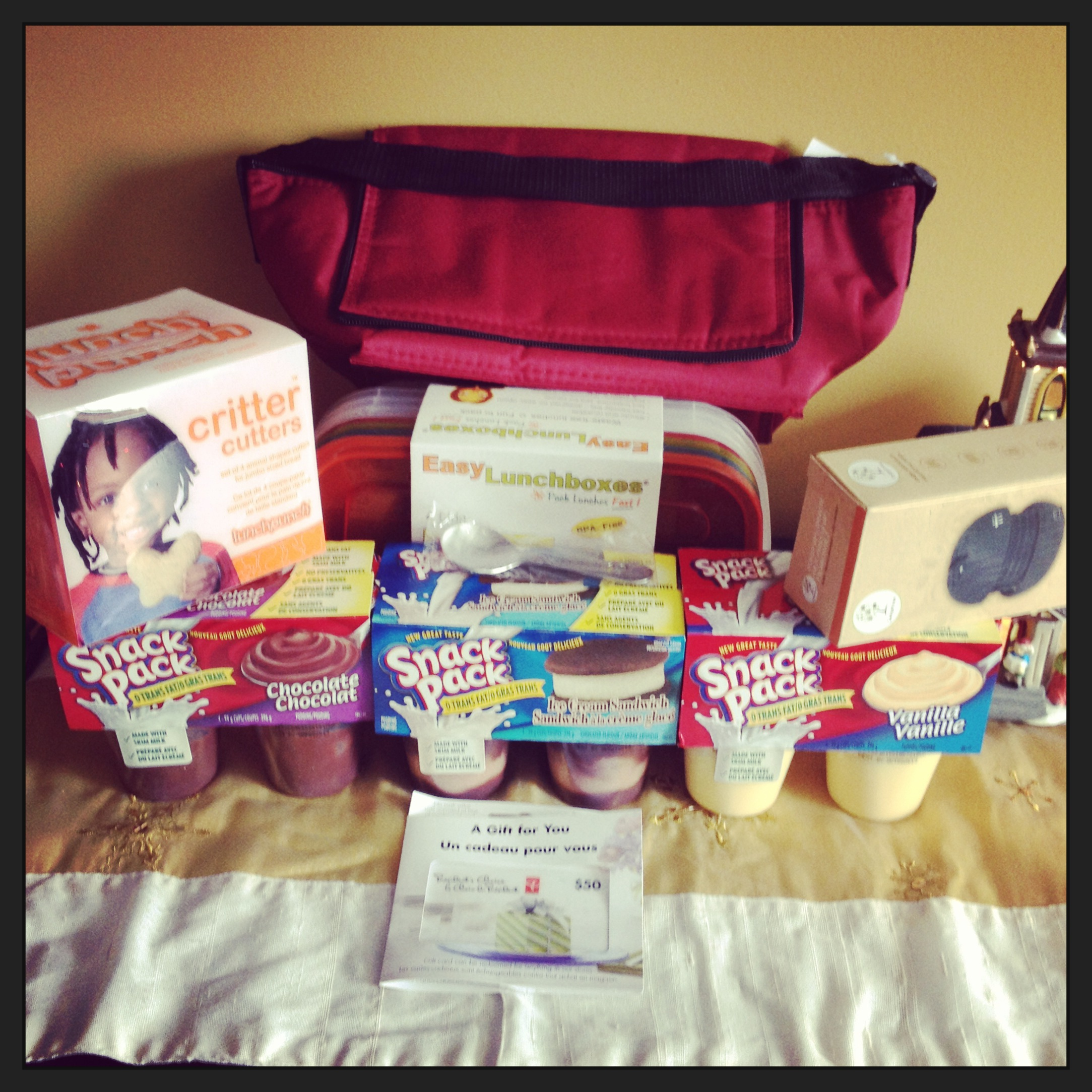 Snack Pack Prize Pack