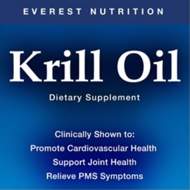 Everest Nutrition Krill Oil – Omega 3 Supplement