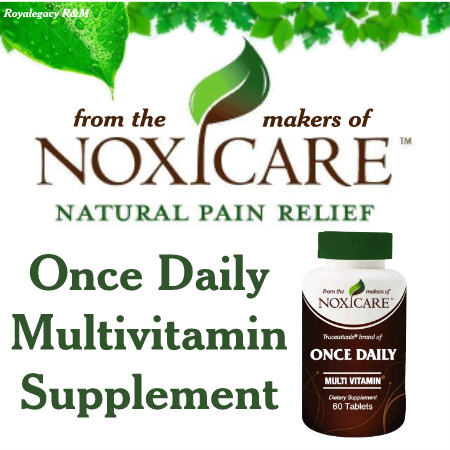 Noxicare Once Daily Multivitamins Giveaway