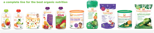 Happy Baby Food Full Value/FREE Coupons ($15 Value)