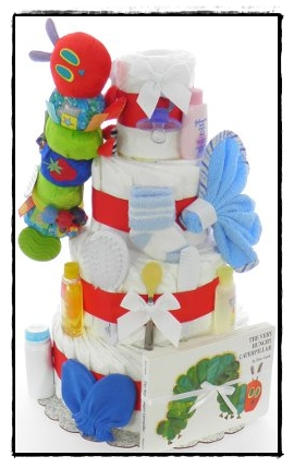 The Perfect Baby Shower DIAPER CAKE! (@eDiaperCakes)