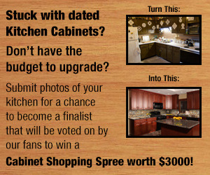 $3000 in kitchen cabinets and hardware