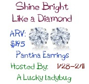 Enter to win Pantina Diamond Earrings