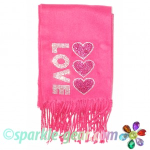 Enter to win Bling Love and Hearts Scarf Giveaway