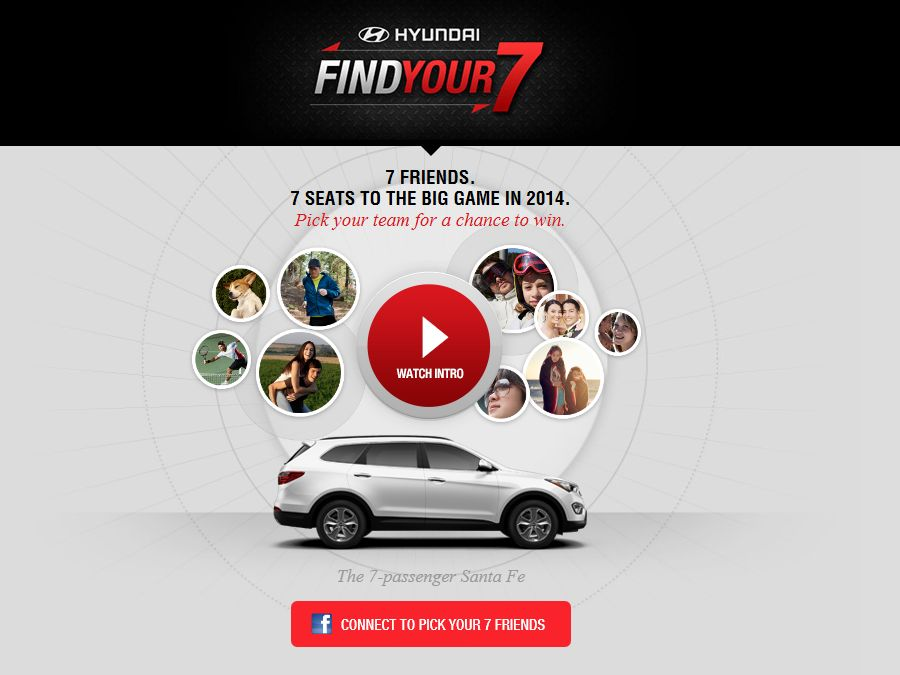 Hyundai Find You 7 Sweepstakes