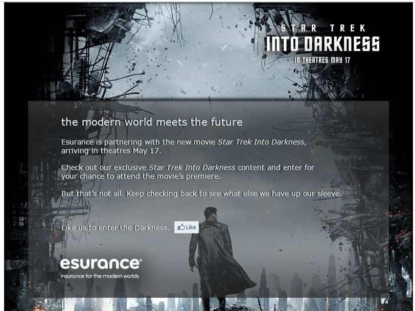 Esurance's Embrace the Darkness Sweepstakes