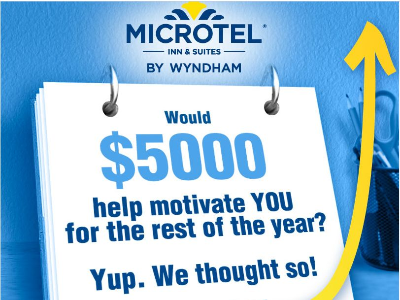 Microtel Inn & Suites Designed For A Great Year Instant-Win Game & Sweepstakes