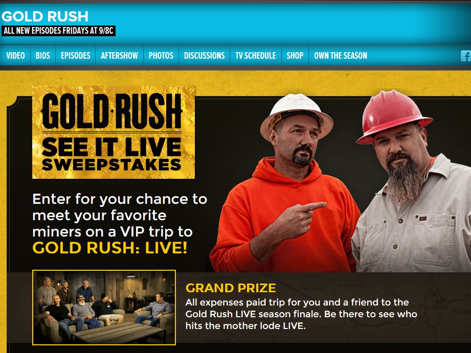 Discovery Channel's See it Live Sweepstakes