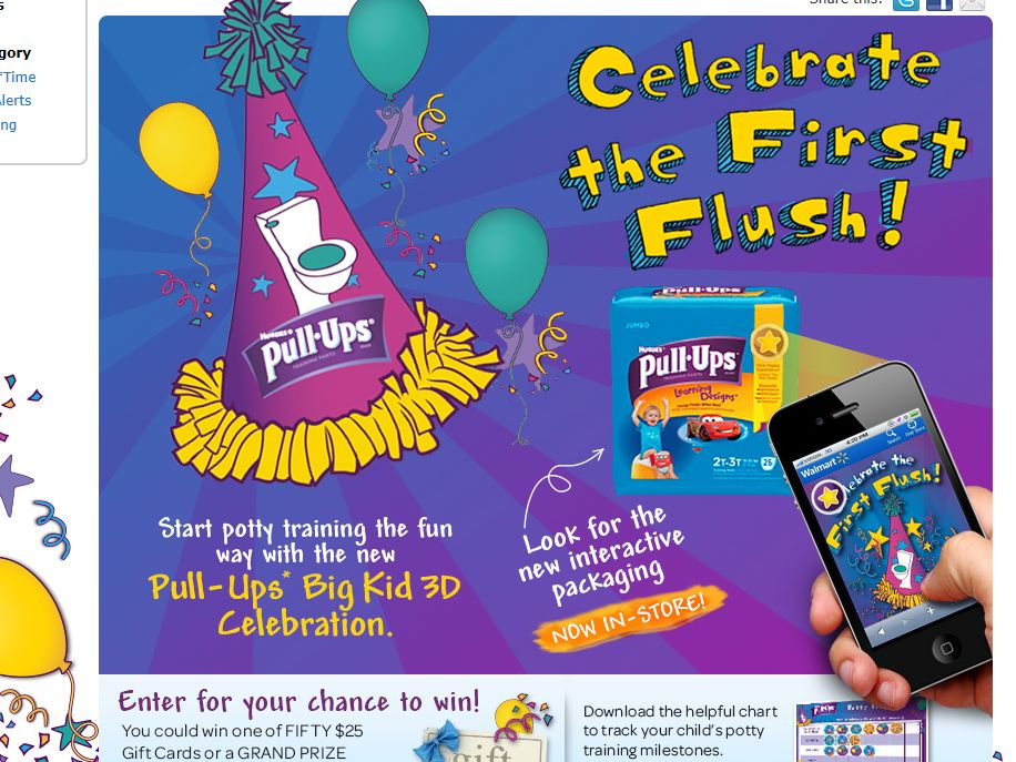 Pull-Ups First Flush Celebration Sweepstakes