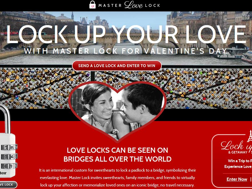 Lock Up Love & Getaway Sweepstakes