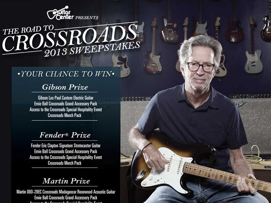 Guitar Center presents the Road to Crossroads 2013 Sweepstakes