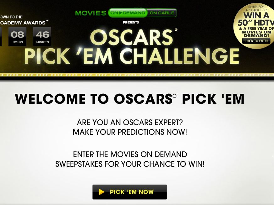 TV Guide Movies on Demand Sweepstakes