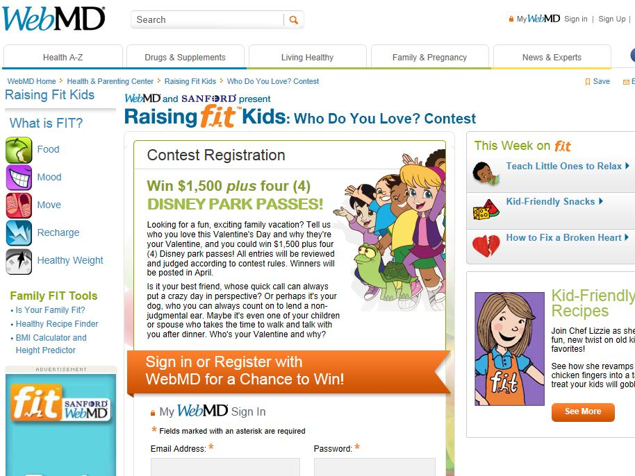"""Who Do you Love"" Contest - Win 4 Disney tickets plus $1,500 cash"