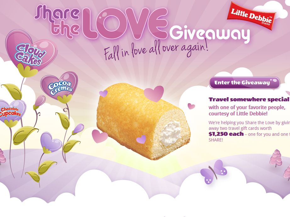 Little Debbie Share the Love Giveaway