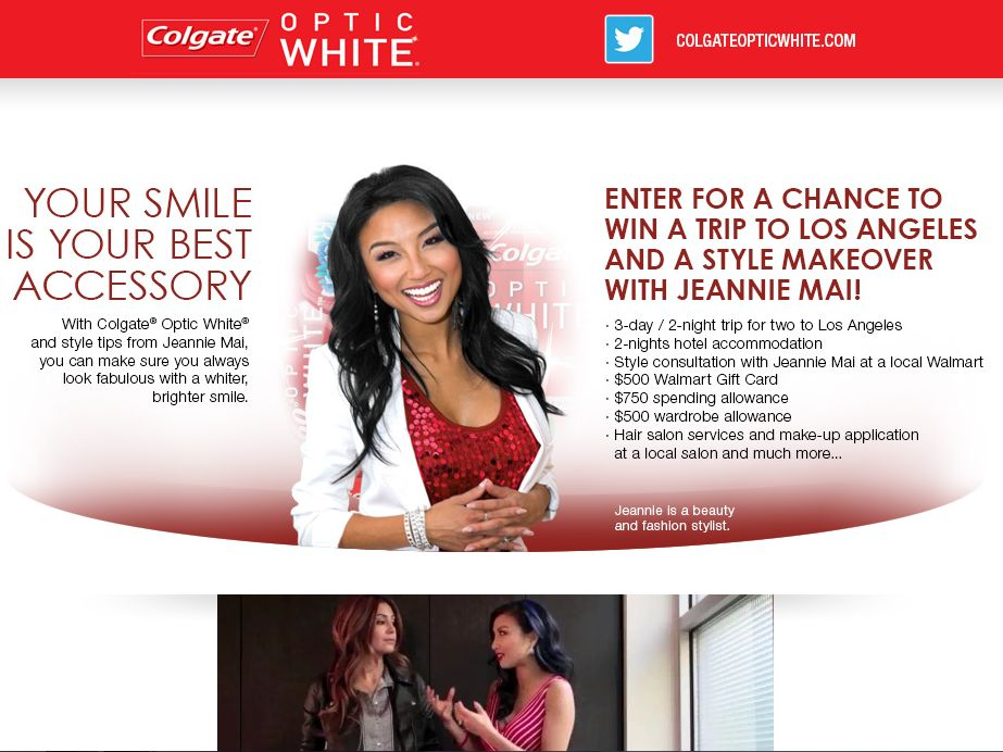 Win a Trip to La and A Style Makeover with Jeannie Mai Sweepstakes