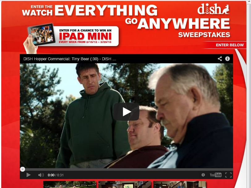 Dish Hopper iPad Sweepstakes