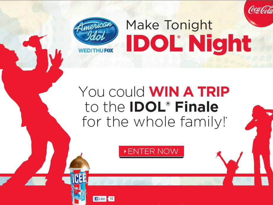 Coca-Cola American IDOL Sweepstakes