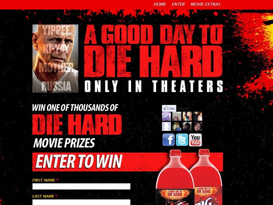 Big Red Die Hard 5 Sweepstakes