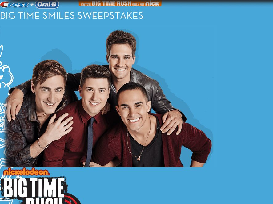 Crest & Oral-B Big Time Smile Sweepstakes