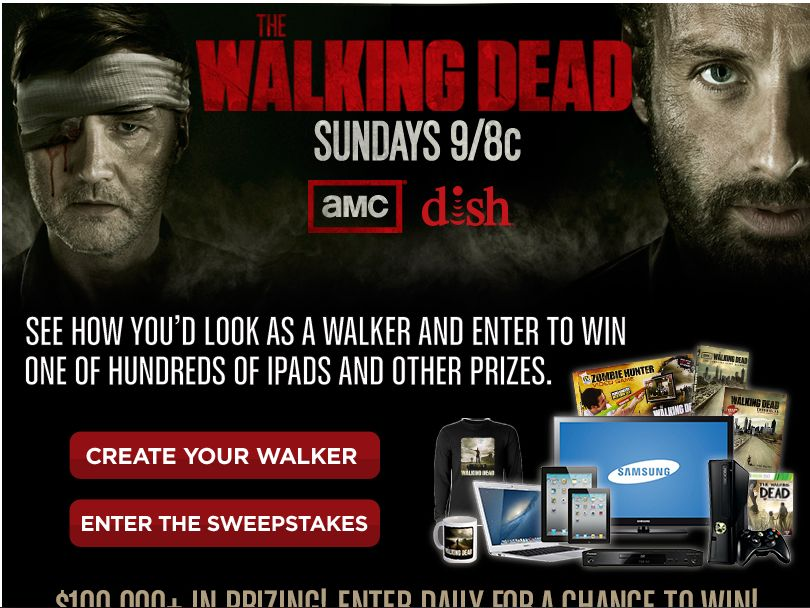 Dish Dead Yourself Sweepstakes