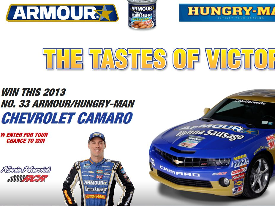 Armour Tastes of Victory Sweepstakes