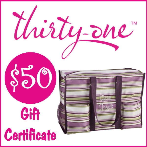 Royalegacy Reviews & More Giveaway – $50 Gift Certificate to Thirty One