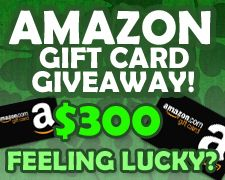 $300 Amazon Giftcard Giveaway