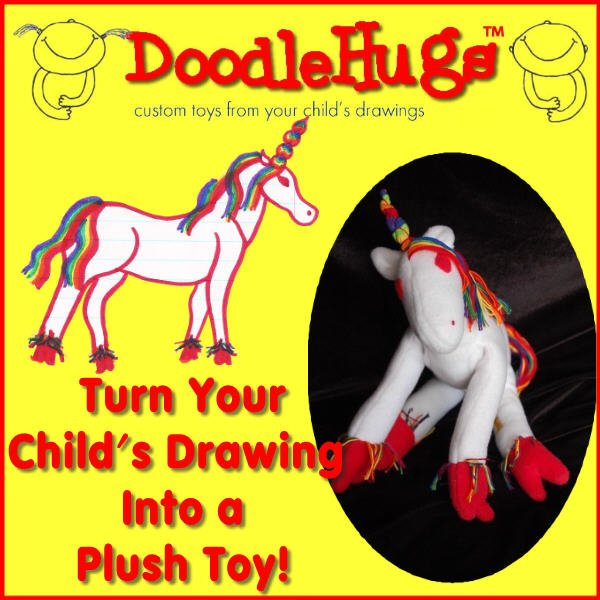 Royalegacy Reviews and More Giveaway – DoodleHugs: Turn Your Child's Drawing Into a Plush Toy