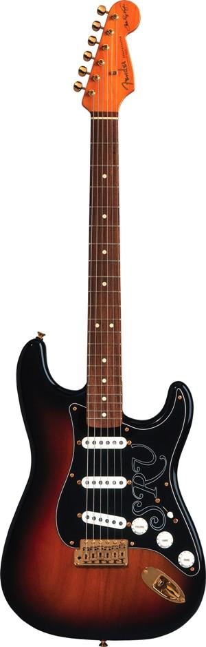 Win a  $2,400 Stevie Ray Vaughan Fender guitar