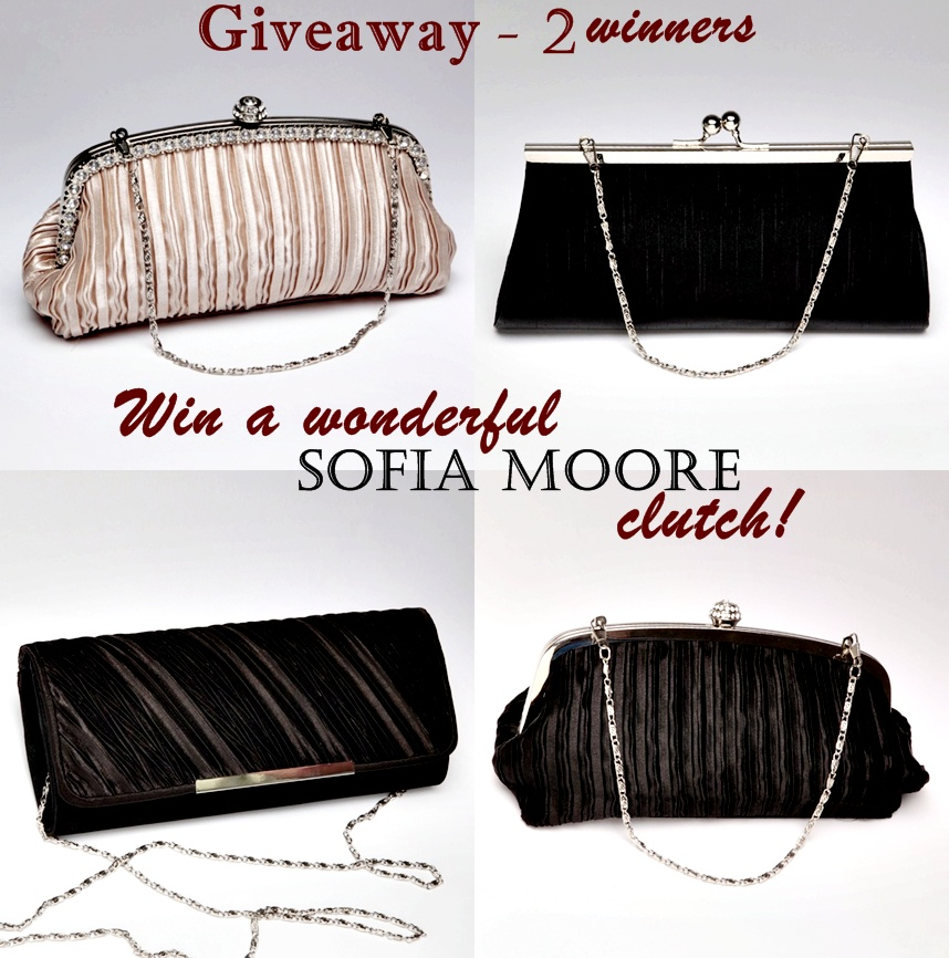 Sofia Moore bags giveaway – 2 winners