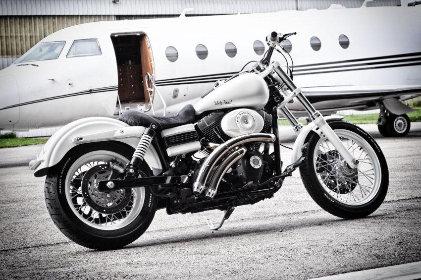 "Harley Davidson ""White Pearl"""