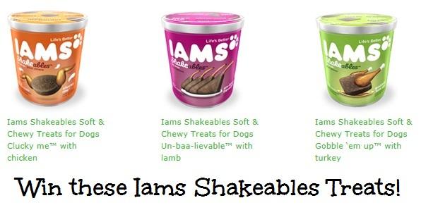 Your Dog Deserves Iams Shakeables Dog Treats, 03/08
