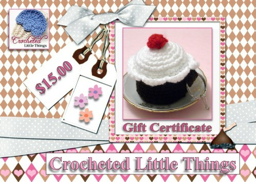 $15 Crocheted Little Things Gift Certificate Giveaway