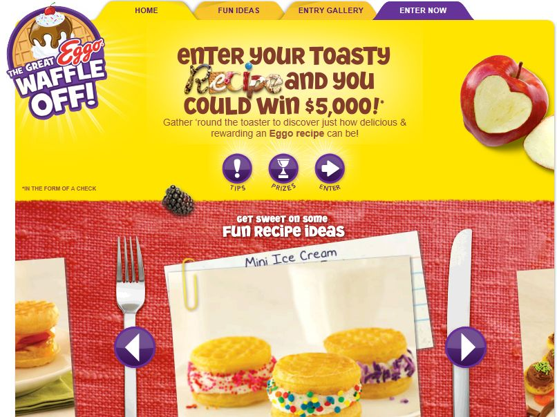 Great Eggo Waffle Off Contest