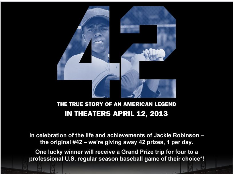Ball Parks 42 Days Of Honoring #42 Sweepstakes