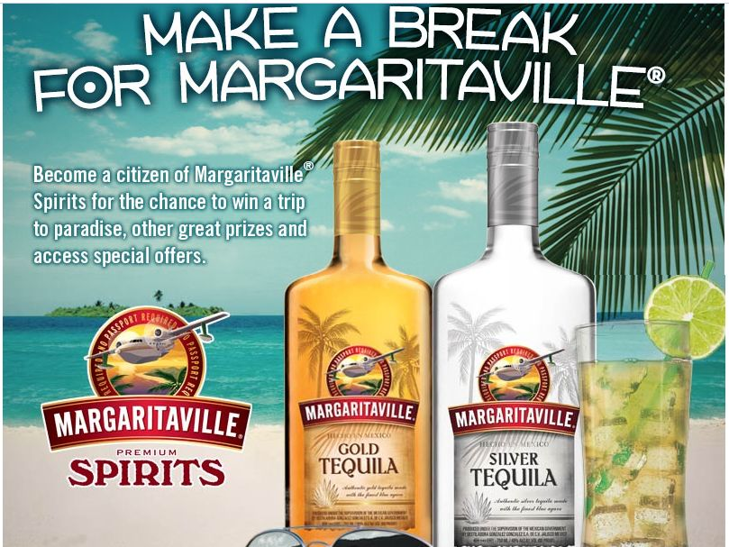 Margaritaville Spirits Make A Break For Margaritaville Sweepstakes