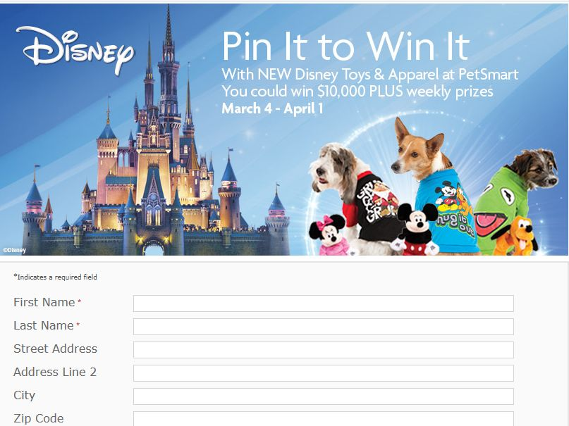 Pin It To Win It Sweepstakes