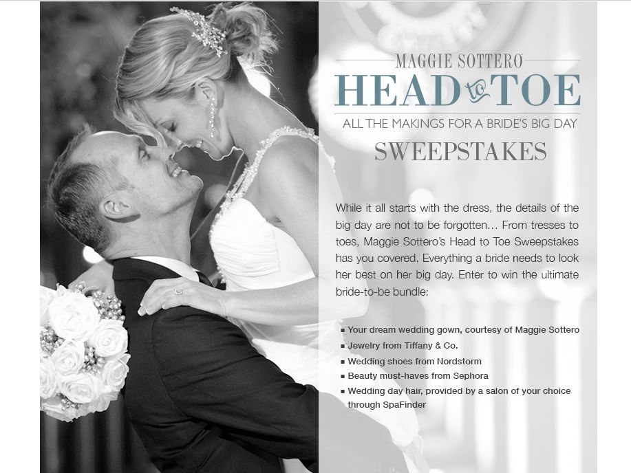 Head to Toe Sweepstakes – Females Only