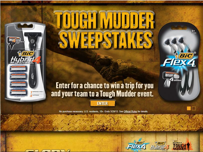Tough Mudder Sweepstakes