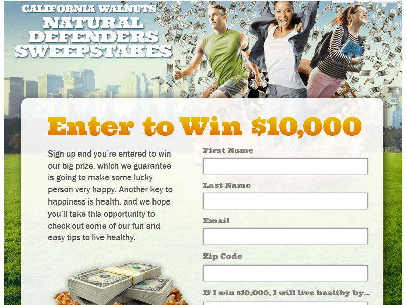 Natural Defender Sweepstakes