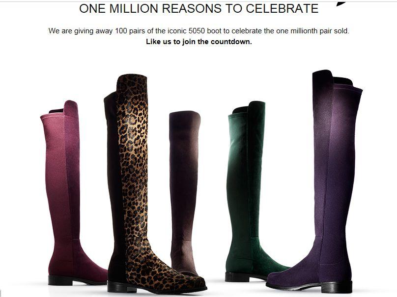 One Million Reasons to Celebrate Sweepstakes