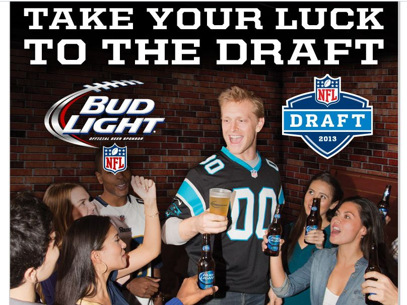 Bud Light Best Round Ever NFL Draft Experience Sweepstakes