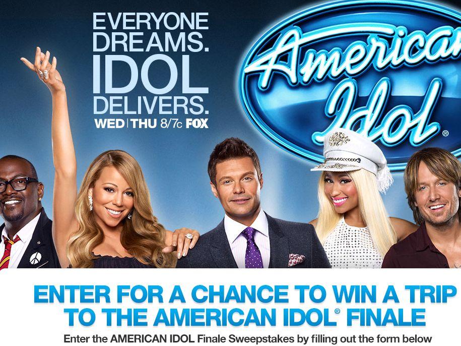 American Idol Finale Sweepstakes