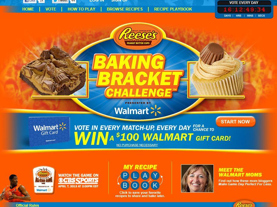 Reese's Baking Bracket Challenge Sweepstakes