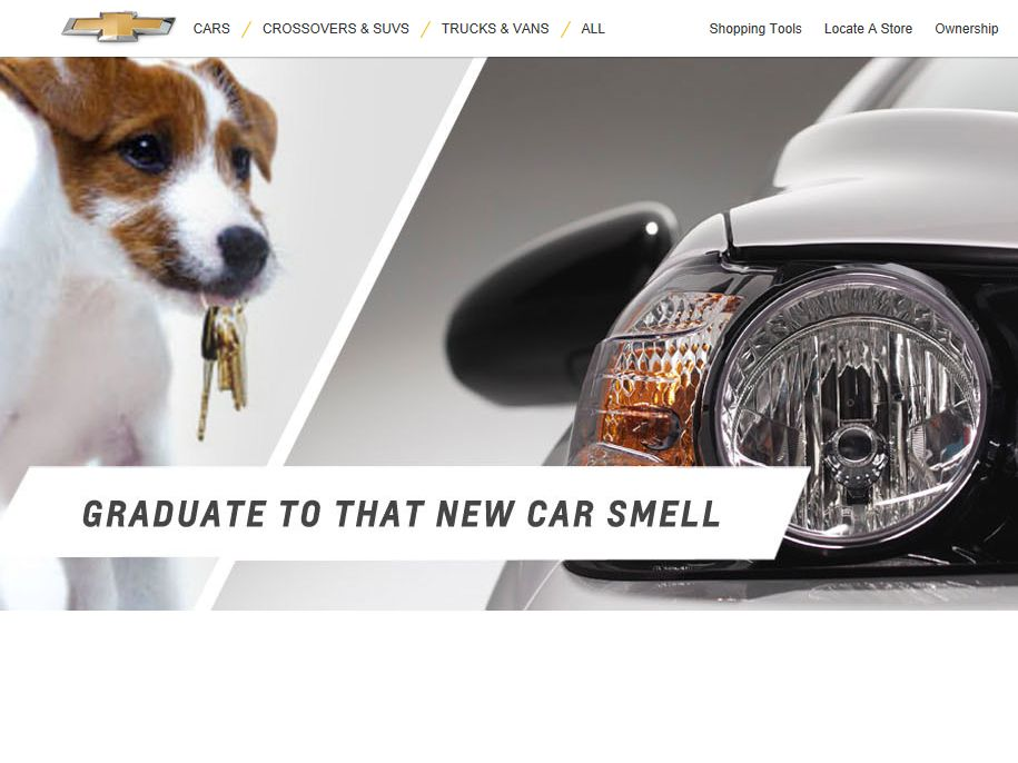 Chevrolet College Graduate Sweepstakes