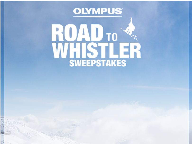 Olympus the Road to Whistler Sweepstakes