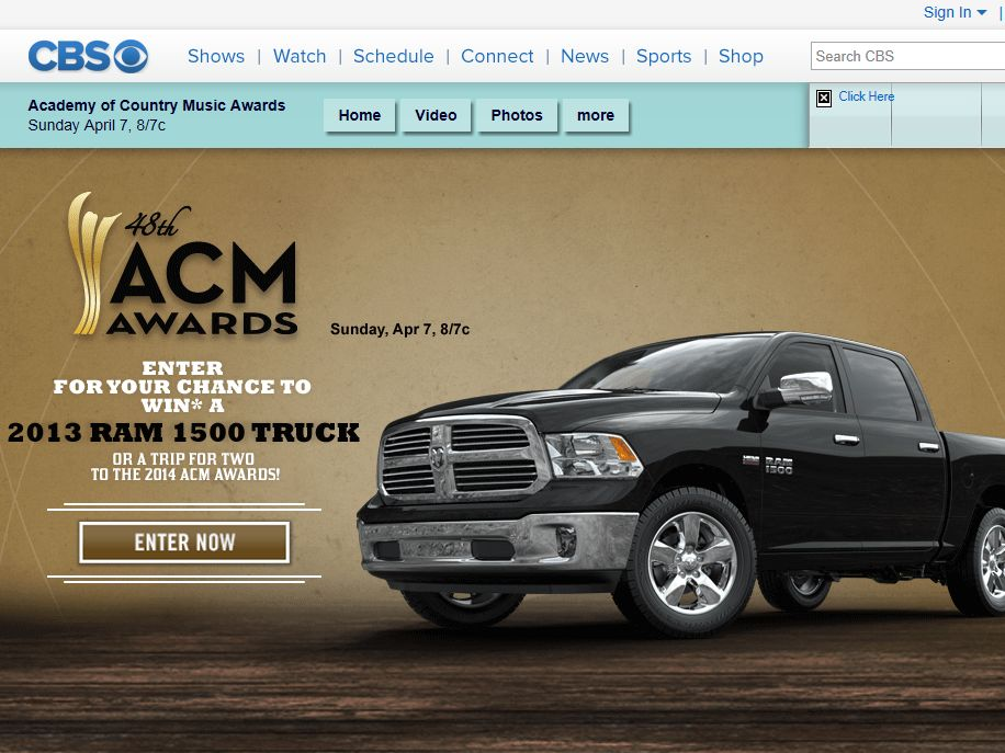 Ram Enter-to-Win Sweepstakes