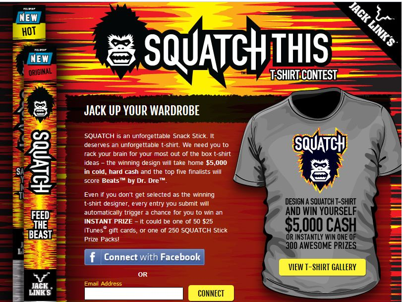 Squatch This Sweepstakes