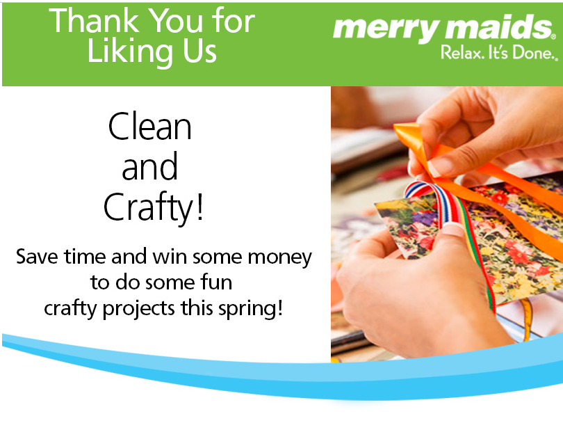 Merry Maids Clean and Crafty Sweepstakes